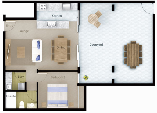 Tranquillity Apartment 4